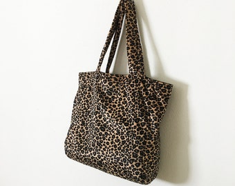 Everyday Tote - Leopard