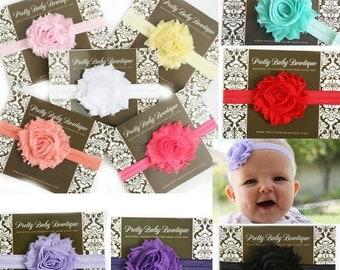Baby Headband - You Choose Color - Infant Headband - Baby Girl Headband Newborn Headband - Toddler Headband