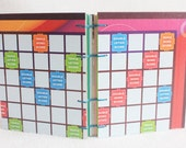 Scrabble Journal Recycled Game Board Book version 14 by PrairiePeasant