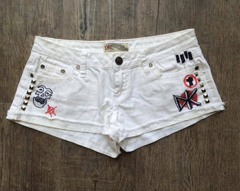 Punk Doodle Shorts