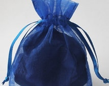 Pre Holiday Stock Up Sale 12 Pack Sheer Organza Drawstring Bags  2.75 X 4 Inch Size Great For Gifts, Favors, Sachets, Weddings