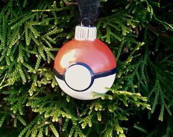 Poké Ball Christmas Ornament