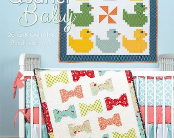 Fat Quarter Baby 20 crib Quilts for bundles of Joy! (ISE 909)