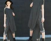 SALE 20% BABOOSHKA Vent Tee Midi Maxi Dress - ready to ship