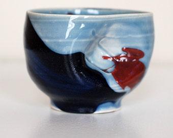 porcelain tea bowl
