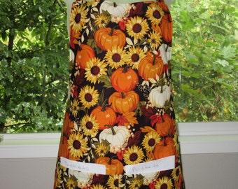 aprons for women - womens aprons - pumpkin patch