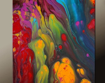 Abstract Art Print 11x14 Contemporary Wall Art Prints by Destiny Womack - dWo - Ascend