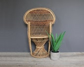 r e s e r v e d Child Size Peacock Chair - 2.5 Feet Tall