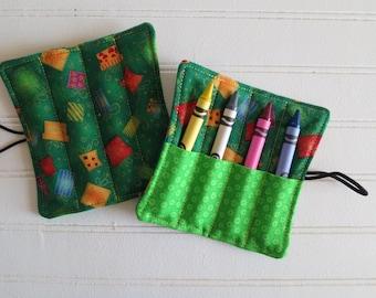 Presents - Mini Crayon Roll