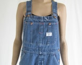 Vintage Denim Overalls. Size Small