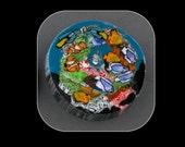 Aquarium Glass Murrine Boro Murrina Cabochon - 69R