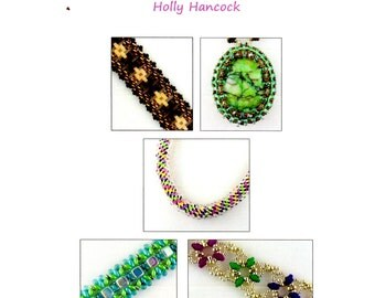 Our Favorite Stitches 6 - 5 Beadweaving Tutorials - Instant Download