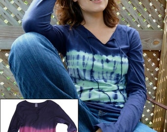 Jersey T-Shirt top with Extended Sleeve, XL