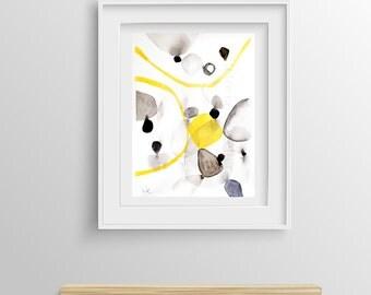Abstract Painting Giclée Print nº 17, Fine Art Print, Watercolor print, Abstract art, Original Painting, Giclée art print, 8x12,12x16,16x24