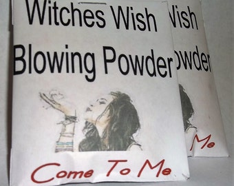 Come To Me Me Witches Blowing Powder