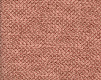 Moda Gratitude 38008 11 Vintage Red Zig Zag Design on Beige by the yard