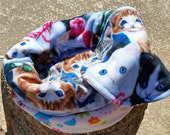 Snooze Sack for Cats - Blue Eyes