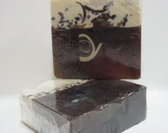 Handmade Glycerin Soap Bar - Cappuccino Scented Soap