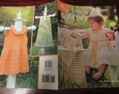 Baby and Toddler Dress Crocheting Patterns Sunny Day Dresses American School of Needlework 1449Crochet Pattern Leaflet