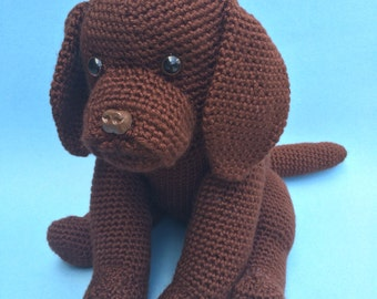 CHOCOLATE LAB PDF Crochet Pattern
