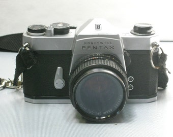 Vintage Honeywell Pentax 35mm Film Camera