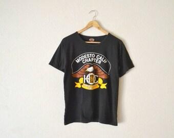 "80's ""Harley Davidson"" Graphic T-Shirt"