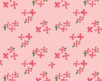 Blossoms - Bloom by Monaluna Organic Fabric -  100% Organic Cotton Poplin BL-02-BLT