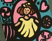 Shirley Temple Notecard