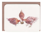 Hens CARD with Envelope