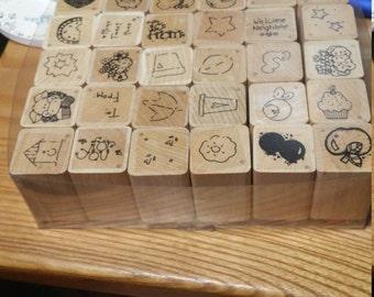 Super Set Rubber Stamping Set