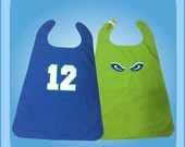 Seahawks Reversible Superhero Cape Costume