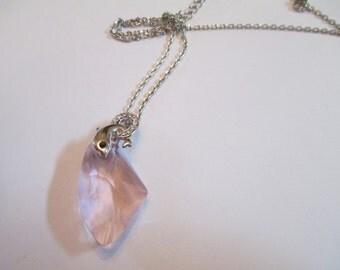 Rhinestone Gem Dolphin Necklace Womens Jewelry