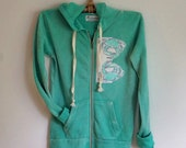 Hoodie Jacket Aqua Crab Applique was 39.00 NOW 19.50
