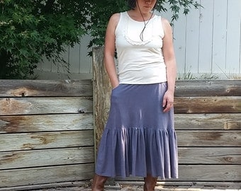 Canyon midi skirt (hemp/organic cotton)