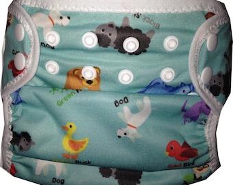 Brown Bear PUL  Waterproof Cloth Diaper Cover