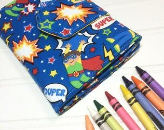 Crayon Wallet - Hip Trendy Travel -  Super boy