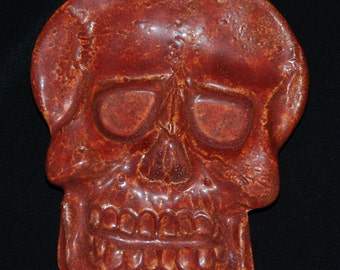Ceramic Skull OOAK - Teabag Holder and More