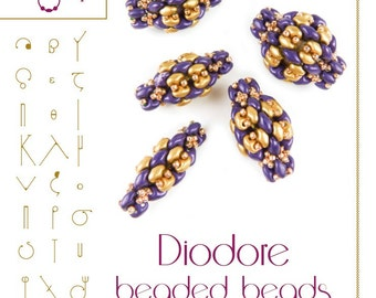Beading pattern Diodore Beaded Beads Pattern – PDF instruction for personal use only