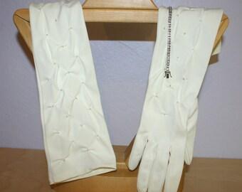 8 Button Beaded Gloves & A Bracelet ~ A Retro 50s Look