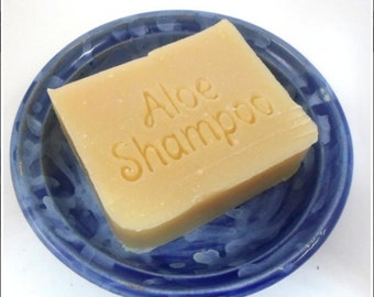 Sesame Aloe Vera Shampoo Bar Sample - Vegan Formula - Formulated for Thin Hair, Sensitive, Dry Flaky Scalp
