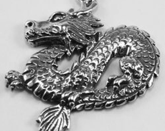Dragon Pendant made with quality Australian Pewter DR56