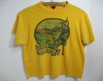 Vintage Tin Man T-Shirt 1980s Wizard of Oz Shirt