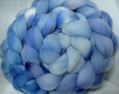 Targhee Roving Combed Top - 5oz - Seattle Sky 1