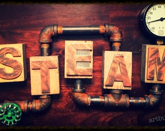 Steam wall hanging