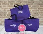 Bridesmaid tote bags , bridesmaid gifts , tote bag , beach bag , bachelorette party gift ,wedding bag , wedding tote bags