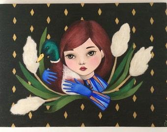 I'll take care of you - Mallard - Original artwork