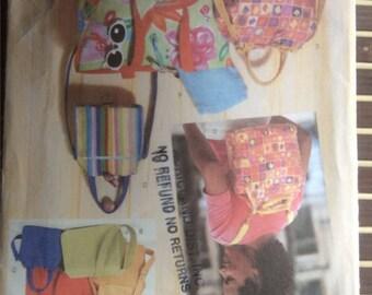 Butterick 6043 - summer handbags