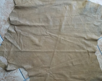 super thin sandy color slightly shimmery lambskin leather  - a 6 sft hide