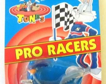 ROAD RUNNER Beep Beep Car Matchbox Diecast Looney Tunes Comics 1993 Pro Racer Cartoon Character Gift Rare Dragster