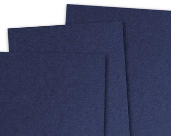 Basis NAVY 80lb Card Stock 8.5x11 - 25 sheets